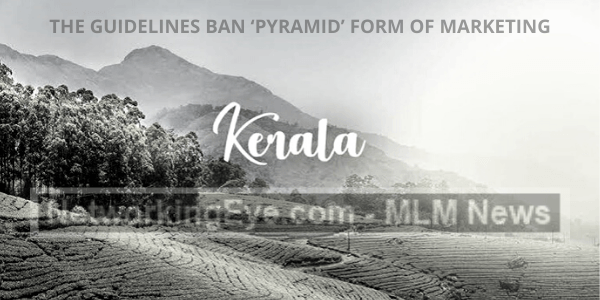 guidelines ban 'pyramid' form of marketing
