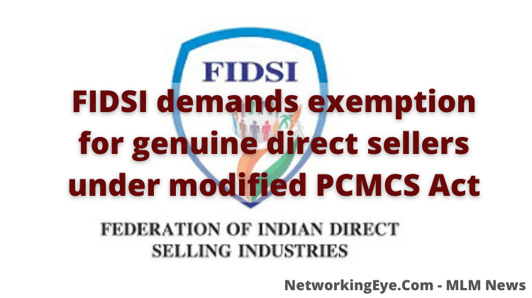 FIDSI demands exemption for genuine direct sellers under modified PCMCS Act