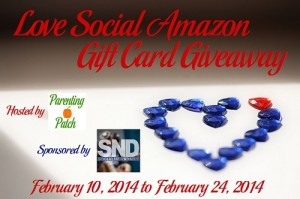 Love Social Amazon Gift Card Giveaway