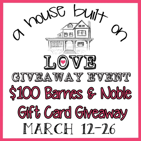 House Built on Love Giveaway Image 1