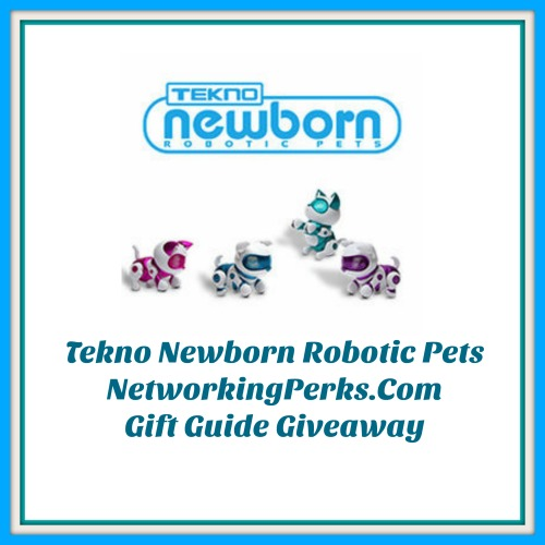Tekno Newborn Family Gift Guide Giveaway