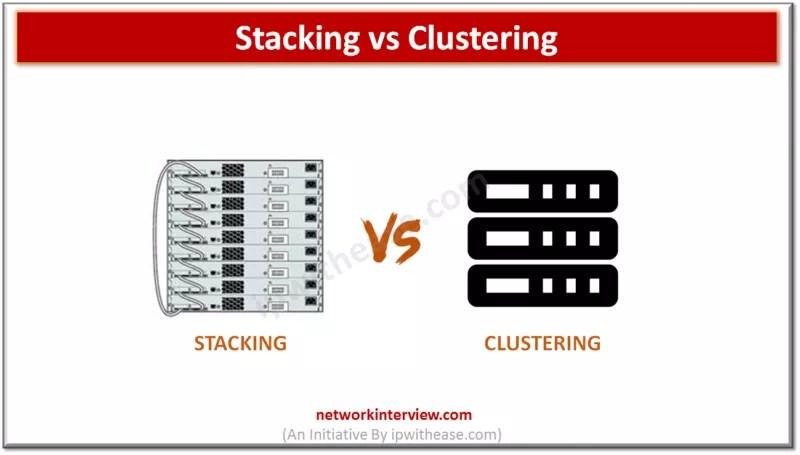 Stacking vs Clustering