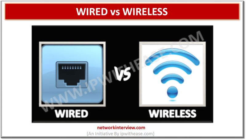 wired vs wireless