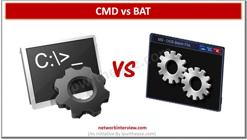 CMD VS BAT