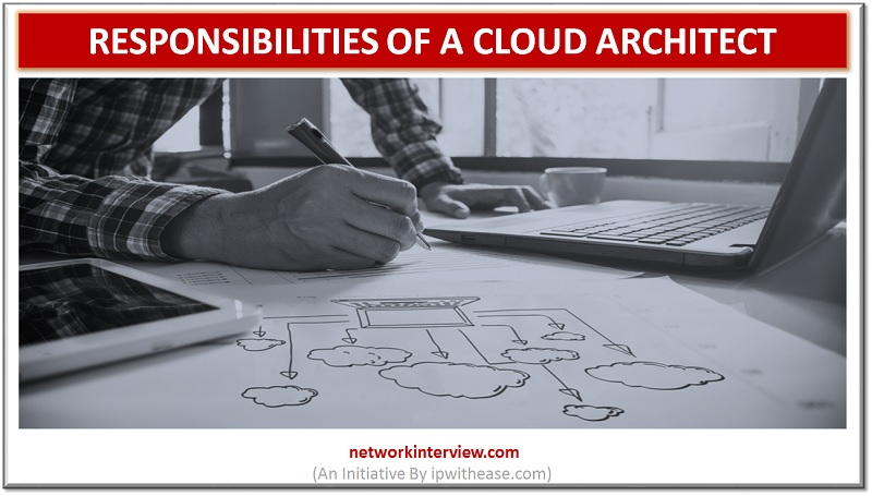 responsibilities of a cloud architect