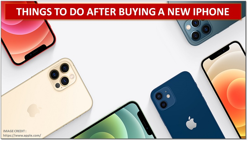 buying a new iphone