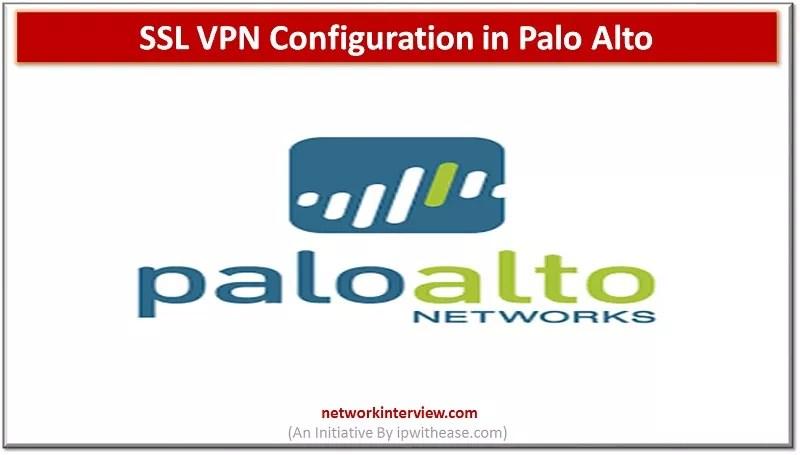 ssl vpn configuration palo alto