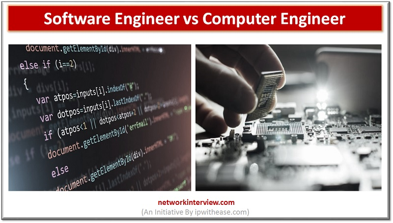 software engineer vs computer engineer