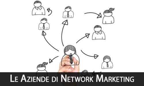 le aziende di Network Marketing