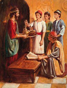 Daniel, Shadrach, Meshach, & Abeddigo