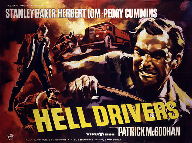 Image result for hell drivers poster