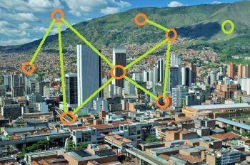 análisis de redes en Medellín
