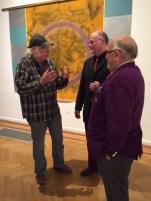 Hank Gilpin, Richard Goulis, and Dr. Joseph A. Chazan