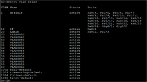 VLAN Configuration in Cisco Switches 4
