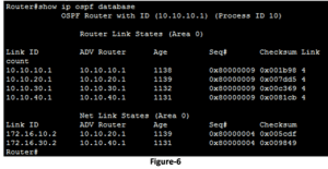 Verifying and Troubleshooting OSPF Configuration 10