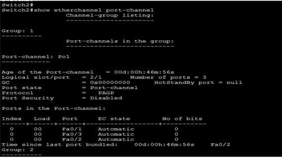 EtherChannel Configuration 4