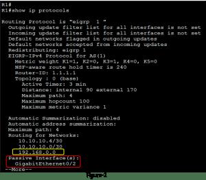 How to Configure EIGRP Passive-Interface 2