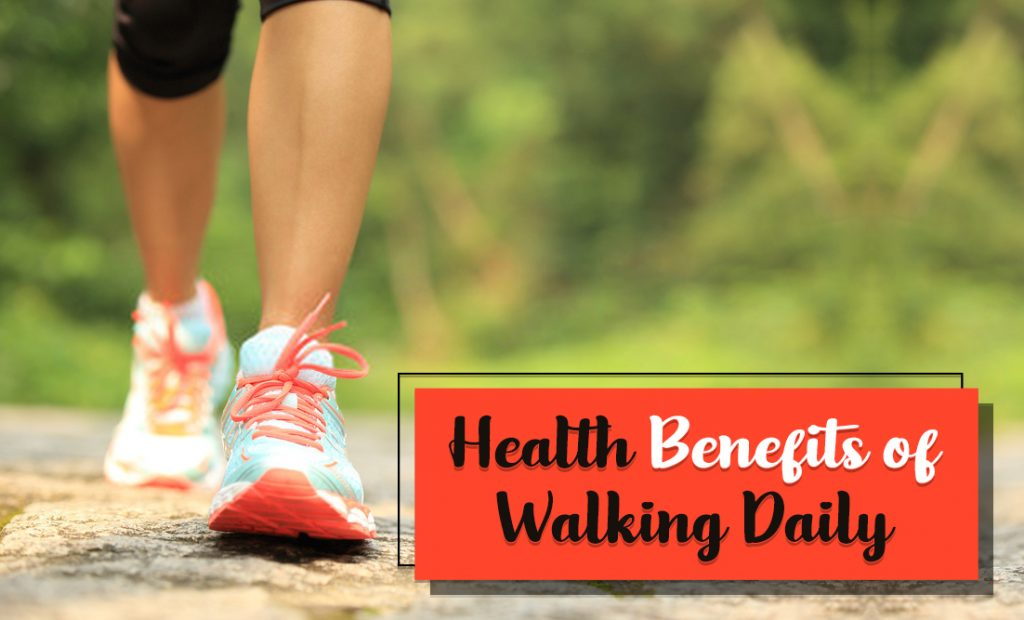Health benefits of Walking Daily 4