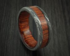 A Damascus Wood Ring is a Beautiful Gift for Any Woman