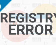 registry errors