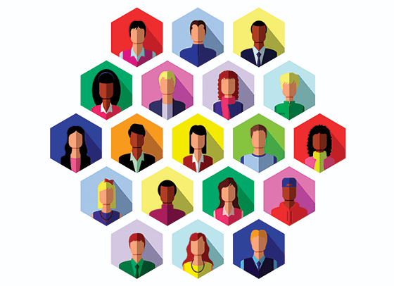 Centering equity within networks