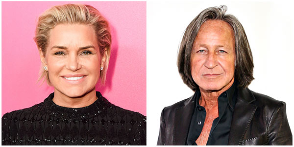 Yolanda Hadid with husband Mohamed Hadid