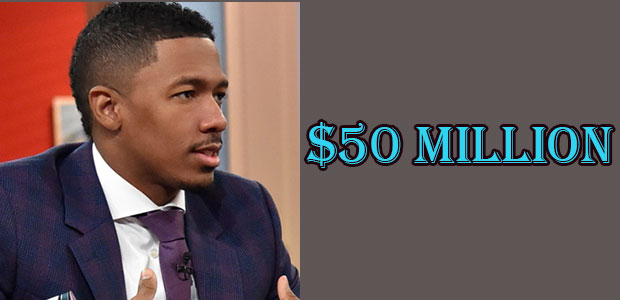 Nick Cannon's Net Worth is $50 Million
