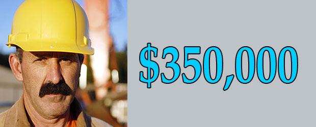 Jim Thurber net worth is $350,000