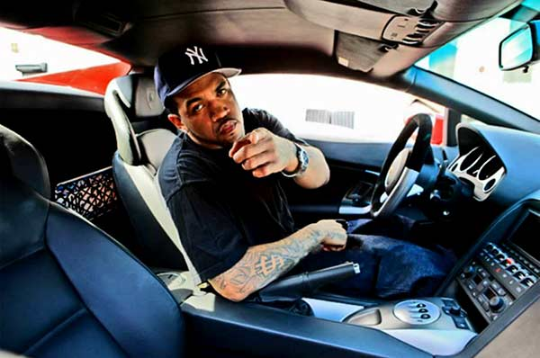 Image of Rapper, Papoose car