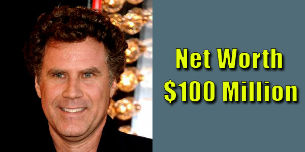 Image of Comedian Will Ferrell net worth is $100 million