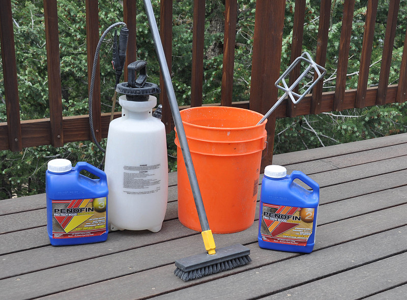 the right way to clean a deck networx