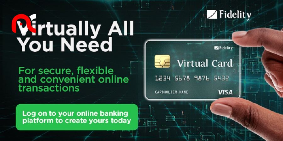 Need to make payments online? Fidelity Bank's Virtual Card is virtually all you need