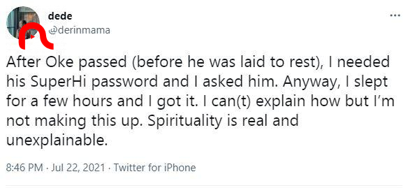 Lady who lost her boyfriend during EndSARS narrates how his ghost visited her, gave her his password