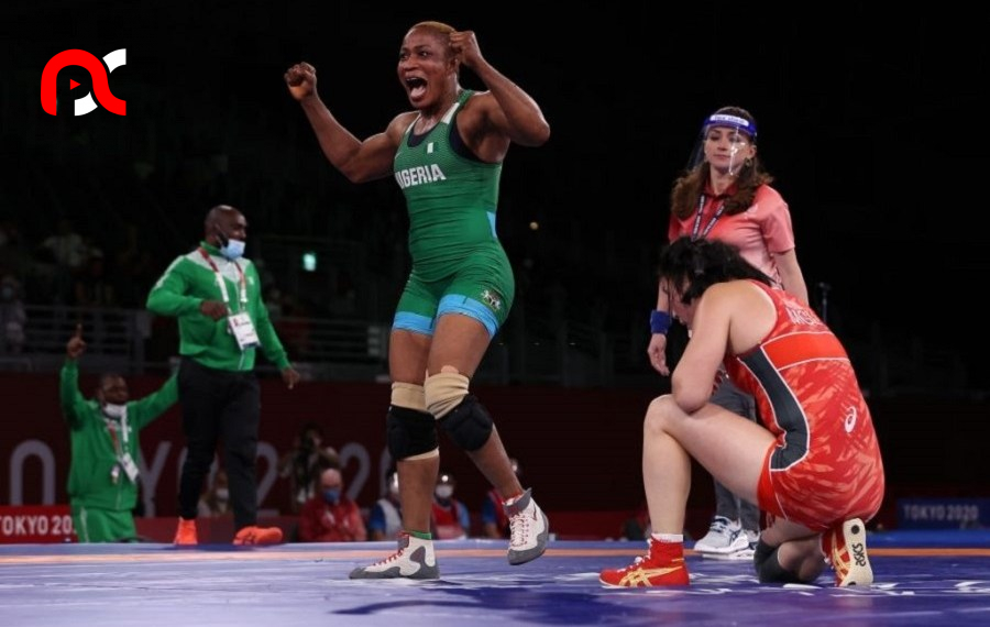 Tokyo Olympics: Blessing Oborududu wins a silver medal in wrestling