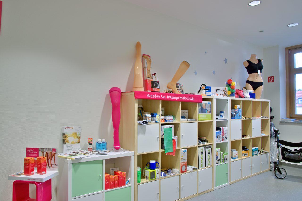Sanitaetshaus Medicus Kassel Klinikum Innen