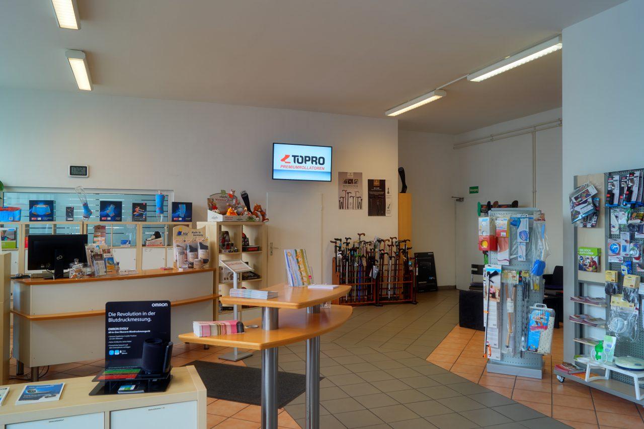 Sanitaetshaus Medicus Niestetal Innnen