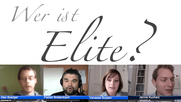 Wie wird man Elite?