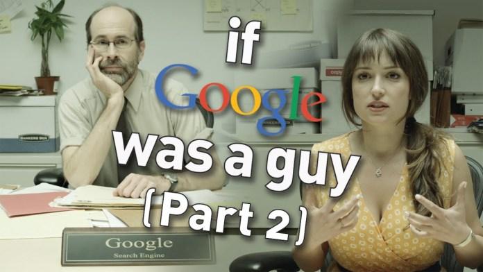 Was Google sich den ganzen Tag anhören muss