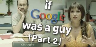 Wenn Google ein mann wäre