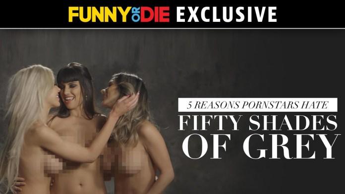 """5 Gründe warum Pornostars """"50 Shades of Grey"""" hassen (NSFW)"""
