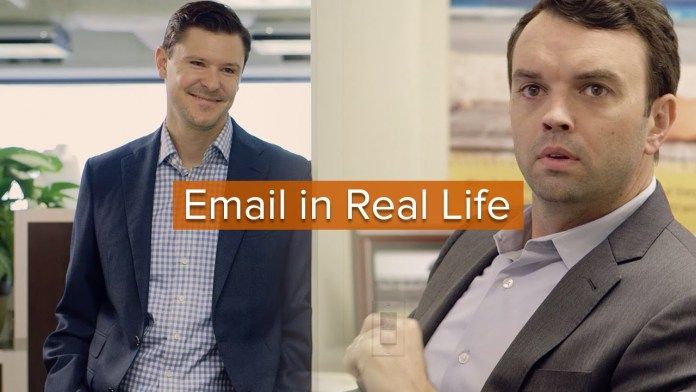 So nervig: eMail in Real-Life