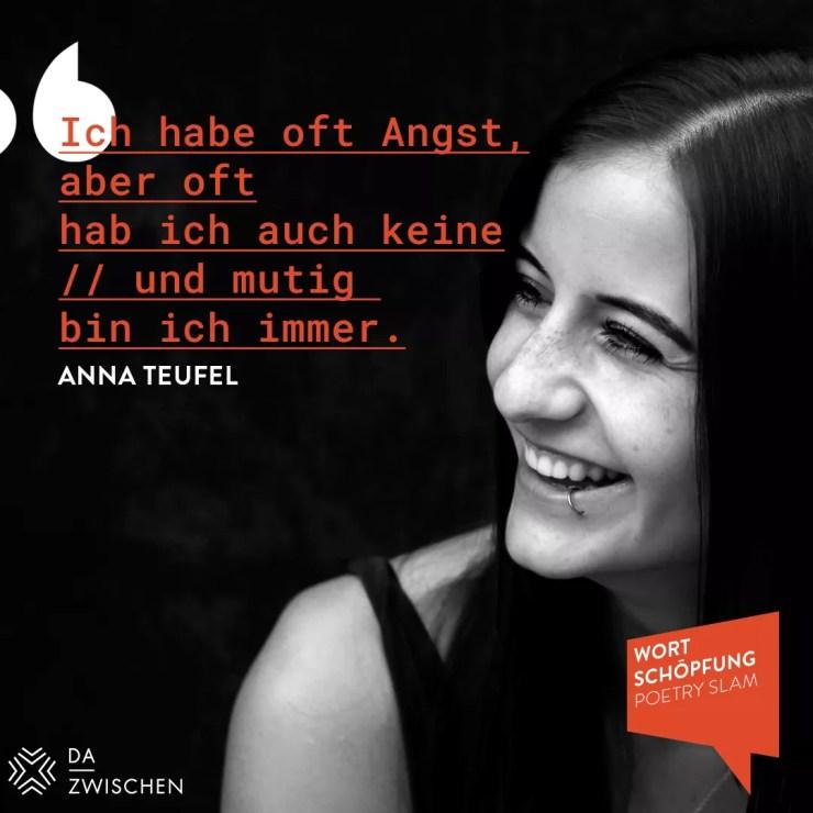 3 18 Anna Teufel Karlsruhe15 - 40 Tage ohne blabla
