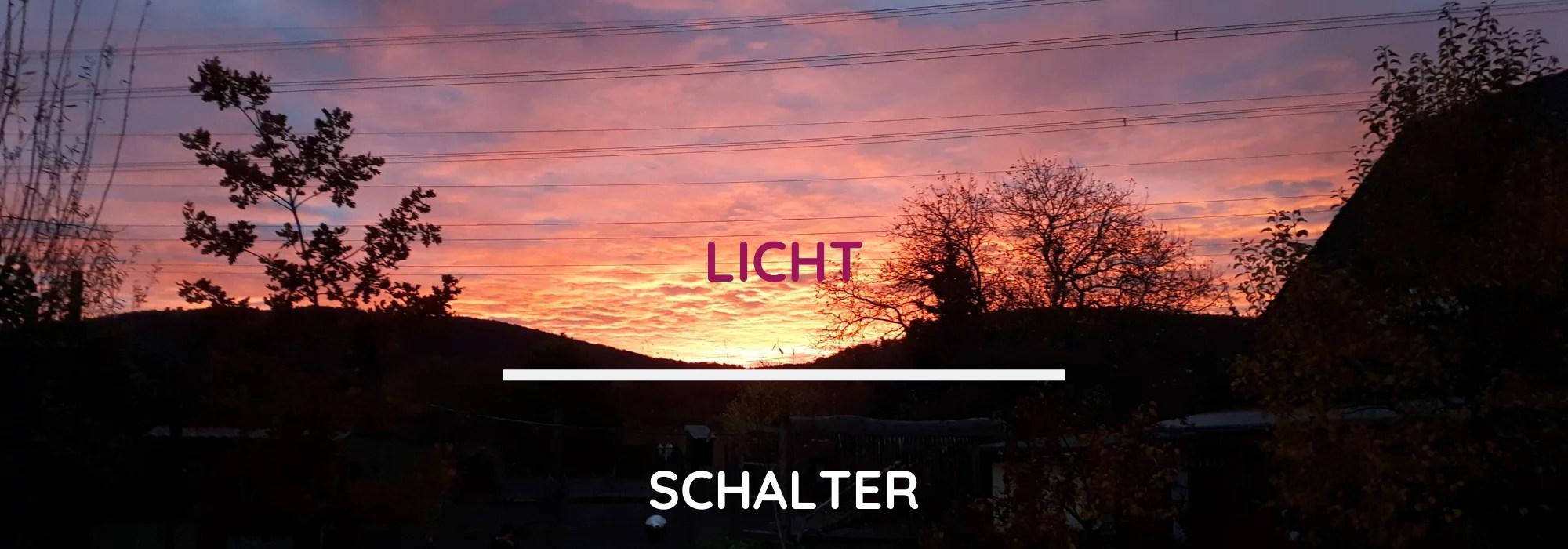 Header 3.2. - LICHT-SCHALTER