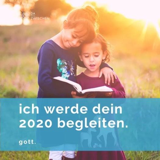 ich begleite dein 2020. - Die Buchstaben meines Lebens entschlüsseln