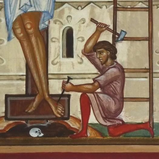 16.März - Tod durch Kreuzigung.