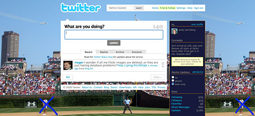 twitter fail for monday july 7, 2008