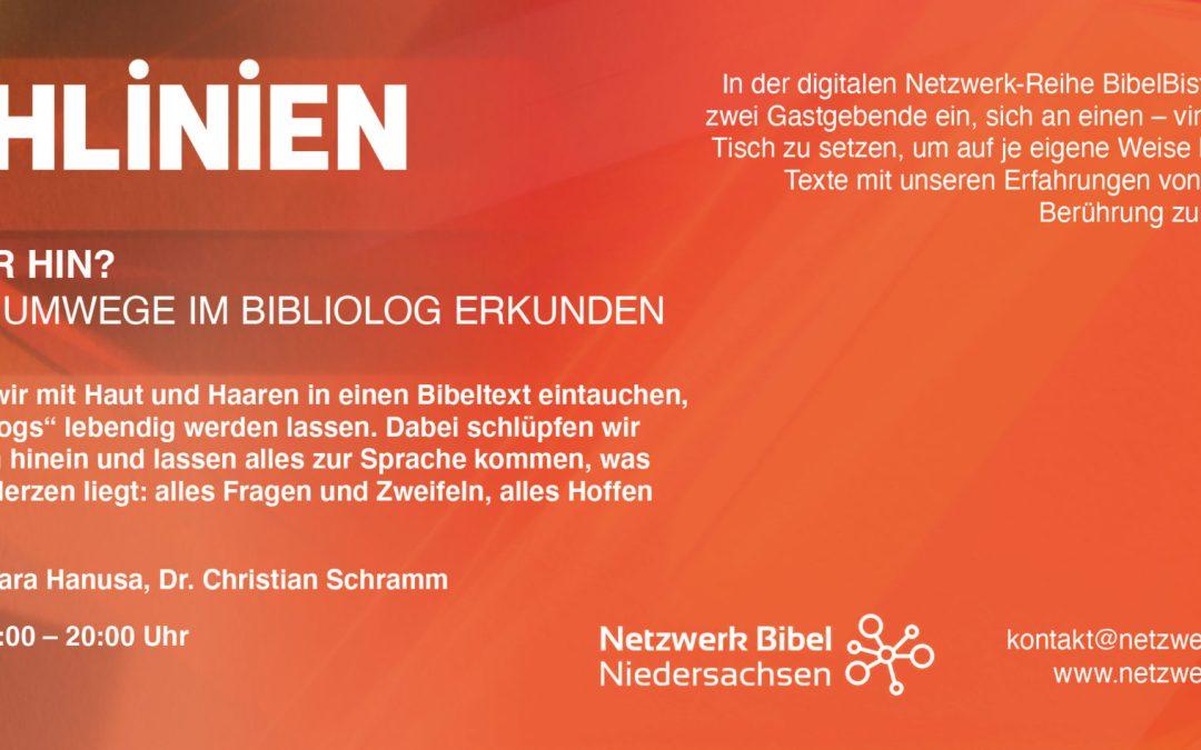 BibelBistro: Wo gehen wir hin? | Bibliolog (ausgebucht – Warteliste wird geführt)