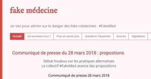 France: Doctors' collective #FakeMed – a crystal-clear statement on pseudomedicine