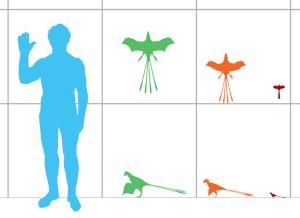 Größenvergleich der Fledersaurier By Matthey Martyniuk CC 40