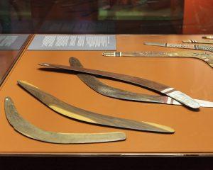 Bumerangs im Museum Leipzig